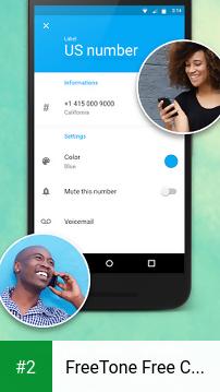 FreeTone Free Calls & Texting apk screenshot 2