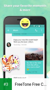 FreeTone Free Calls & Texting app screenshot 3