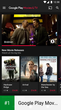 Google Play Movies & TV app screenshot 1