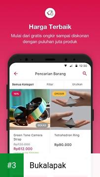 Bukalapak app screenshot 3