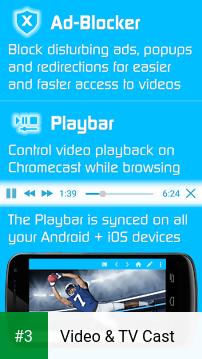 Video & TV Cast app screenshot 3