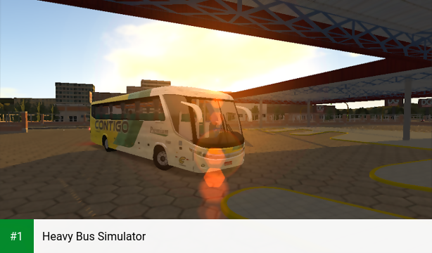 Heavy Bus Simulator app screenshot 1