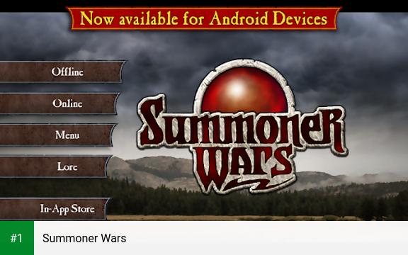 Summoner Wars app screenshot 1