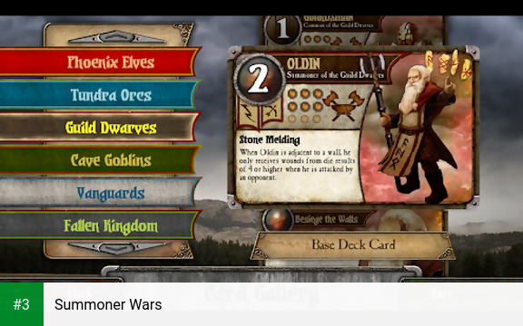 Summoner Wars app screenshot 3