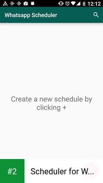 Scheduler for WhatsApp apk screenshot 2