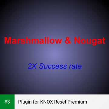Plugin for KNOX Reset Premium app screenshot 3