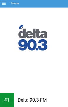 Delta 90.3 FM app screenshot 1