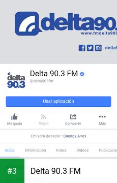 Delta 90.3 FM app screenshot 3