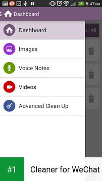 Cleaner for WeChat app screenshot 1