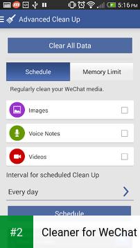 Cleaner for WeChat apk screenshot 2