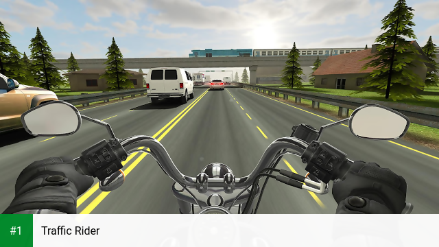 Traffic Rider app screenshot 1