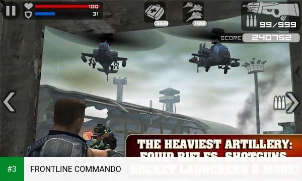 FRONTLINE COMMANDO app screenshot 3