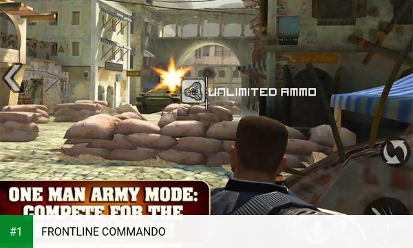 FRONTLINE COMMANDO app screenshot 1