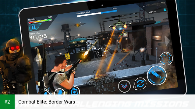 Combat Elite: Border Wars apk screenshot 2