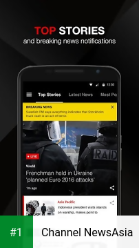 Channel NewsAsia app screenshot 1