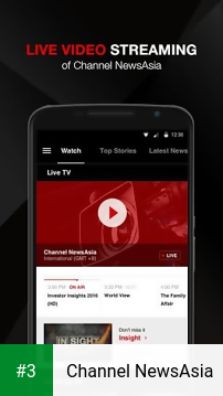 Channel NewsAsia app screenshot 3