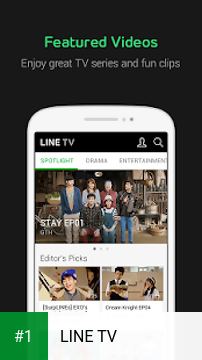 LINE TV app screenshot 1