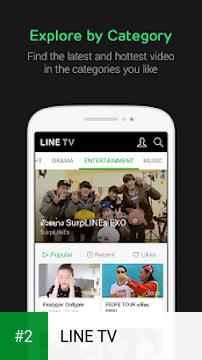 LINE TV apk screenshot 2