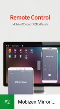 Mobizen Mirroring for SAMSUNG apk screenshot 2