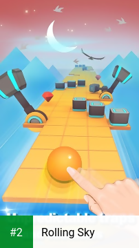 Rolling Sky apk screenshot 2
