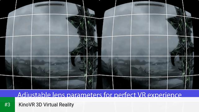 KinoVR 3D Virtual Reality app screenshot 3