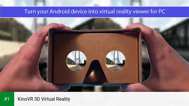 KinoVR 3D Virtual Reality app screenshot 1