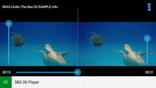 SBS 3D Player apk screenshot 2