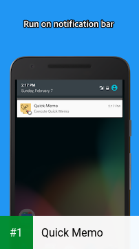 Quick Memo app screenshot 1