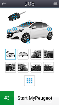 Start MyPeugeot app screenshot 3