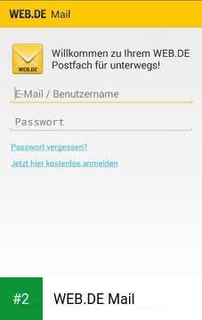 WEB.DE Mail apk screenshot 2