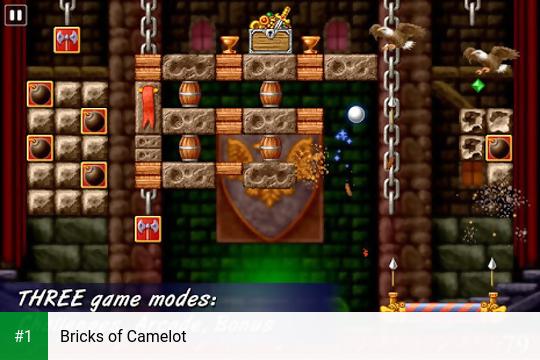 Bricks of Camelot app screenshot 1