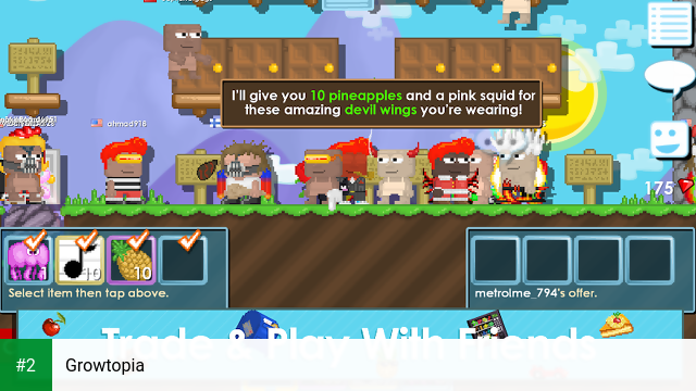 Growtopia apk screenshot 2