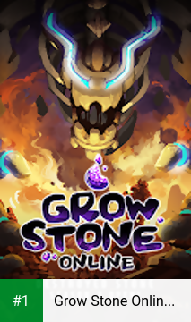 Grow Stone Online : 2d pixel RPG, MMORPG game app screenshot 1