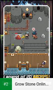 Grow Stone Online : 2d pixel RPG, MMORPG game apk screenshot 2