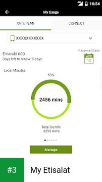 My Etisalat app screenshot 3
