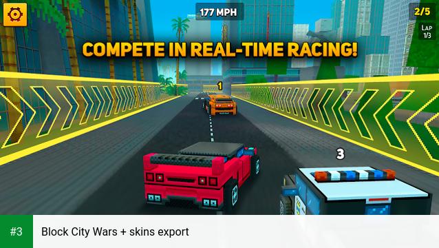 Block City Wars + skins export app screenshot 3