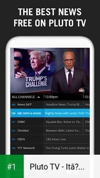 Pluto TV - It's Free TV app screenshot 1
