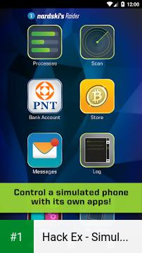 Hack Ex - Simulator app screenshot 1