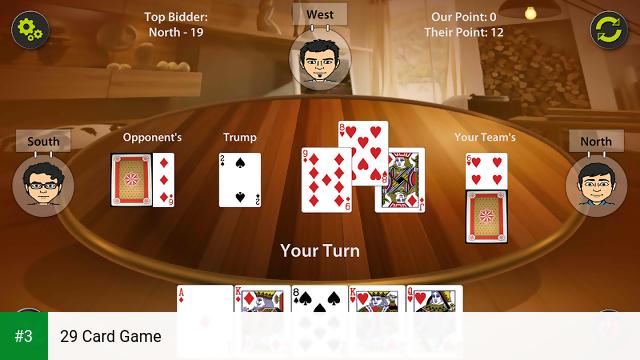 29 Card Game app screenshot 3