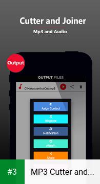 MP3 Cutter and Joiner , Merger app screenshot 3