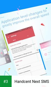 Handcent Next SMS app screenshot 3