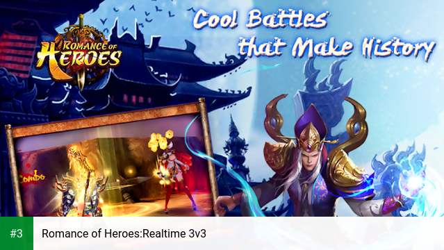 Romance of Heroes:Realtime 3v3 app screenshot 3