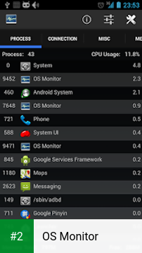 OS Monitor APK latest version - free download for Android