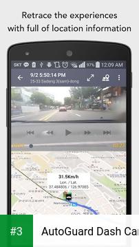 AutoGuard Dash Cam app screenshot 3