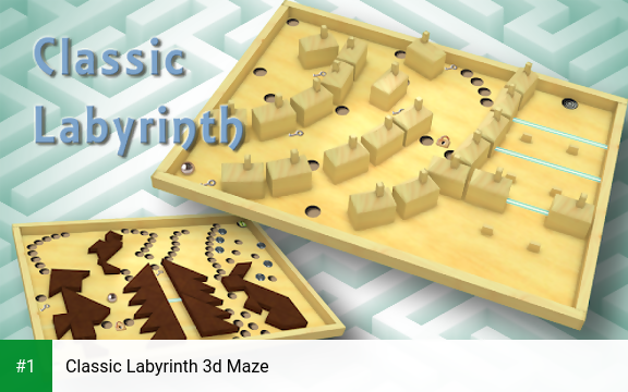 Classic Labyrinth 3d Maze app screenshot 1
