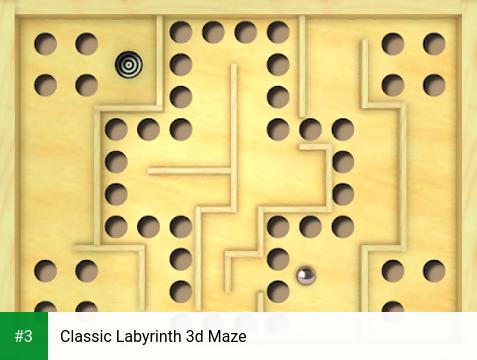 Classic Labyrinth 3d Maze app screenshot 3