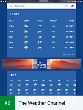 The Weather Channel apk screenshot 2