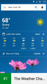 The Weather Channel app screenshot 1