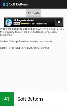 Soft Buttons app screenshot 1