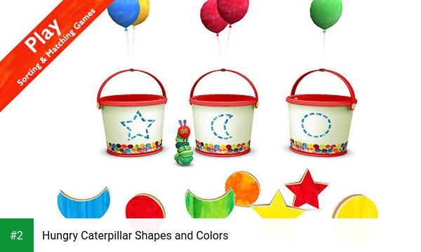 Hungry Caterpillar Shapes and Colors apk screenshot 2